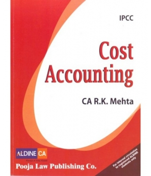 Pooja Law House Cost Accounting for CA IPCC by Ca R.K. Mehta (Pooja Law House Publishing) Edition 2016