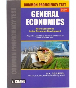 S. Chand General Economics for CA-CPT by S.K. Agarwal Edition 2016