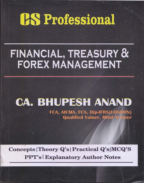 Financial treasury and forex management cs syllabus