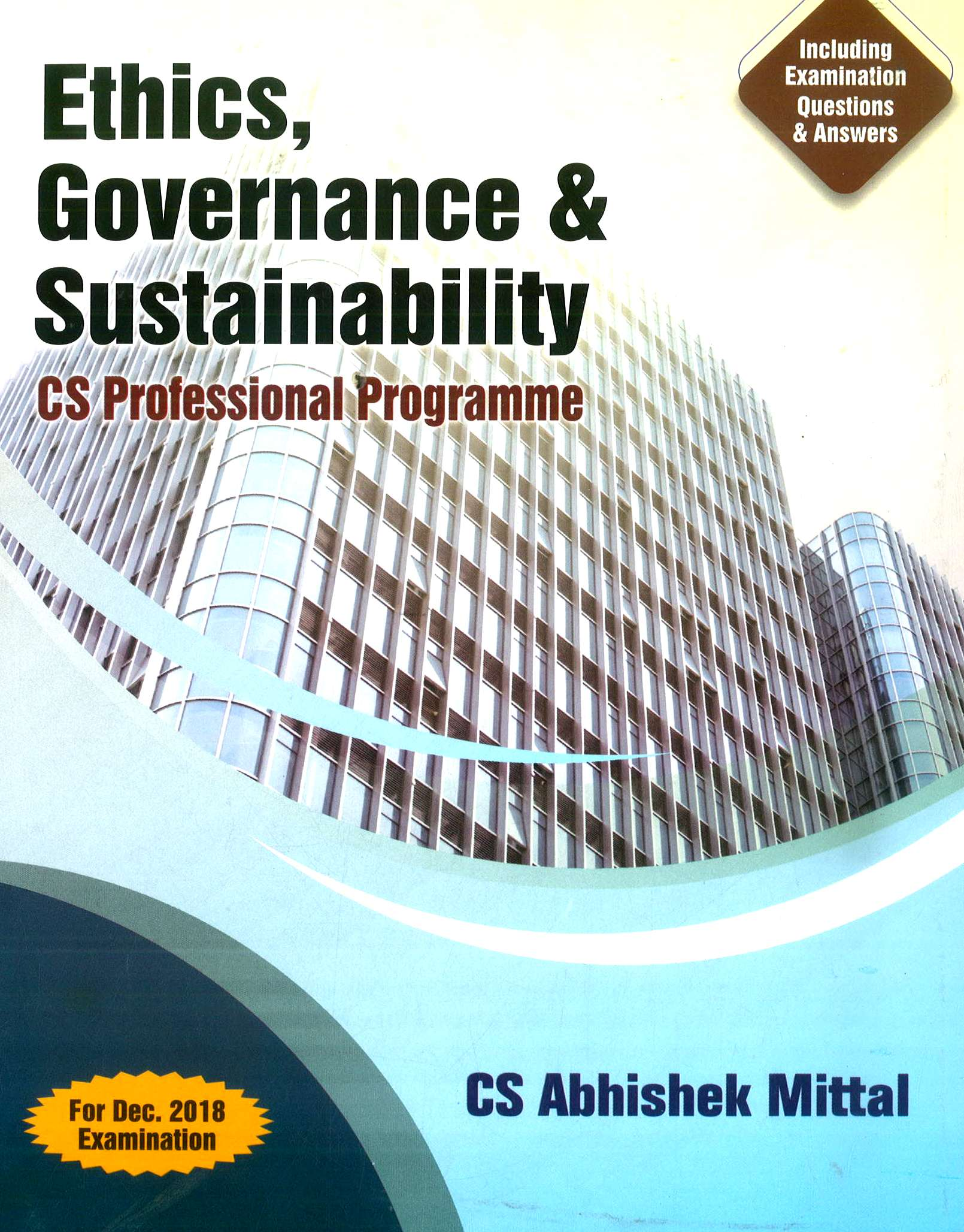 Sangeet Kedia Governance risk management compliance and Ethics, CS Professional Programme (New Syllabus) by Abhishek Mittal for june 2020