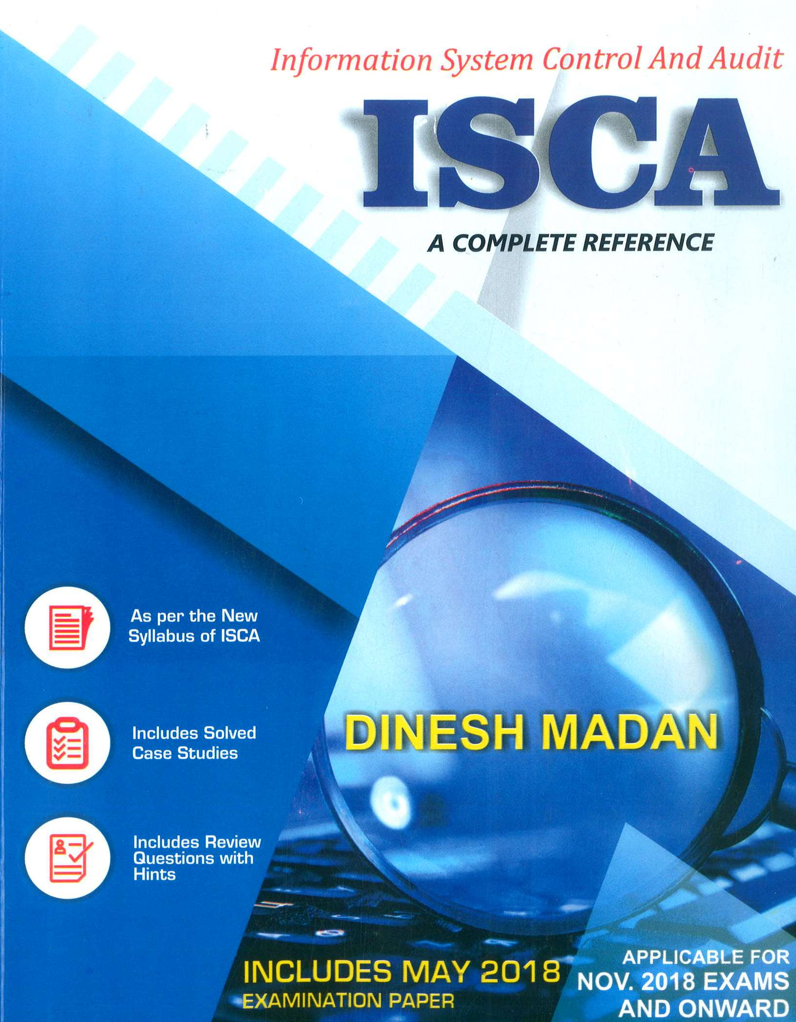 Pooja Law House CA Final Information Systems Control & Audit By Dinesh Madan Applicable for Nov 2018 Exam (Pooja Law Publishing)2018