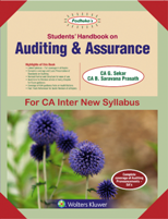 Padhuka's Students Handbook on Auditing & Assurance for CA Inter New Syllabus by G Sekar and Saravana Prasath Applicable for May 2019 Exams