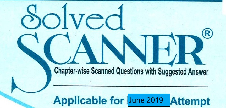 Shuchita Solved Scanner CA Foundation (New Syllabus) Volume-II Paper-3 Business Mathematic, Logical Reasoning and Statistics & Paper-4 Business Economics Business and Commercial Knowledge By Amar Omar and Rasika Goenka Applicable for June 2018 Exam