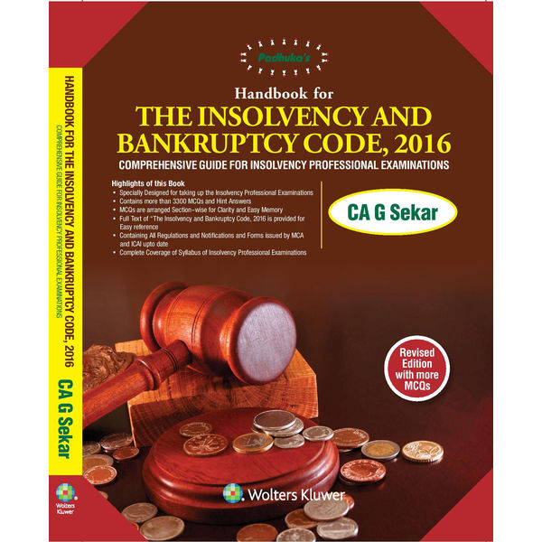 Wolters Kluwer Handbook on The Insolvency and Bankruptcy Code, 2017, 2E