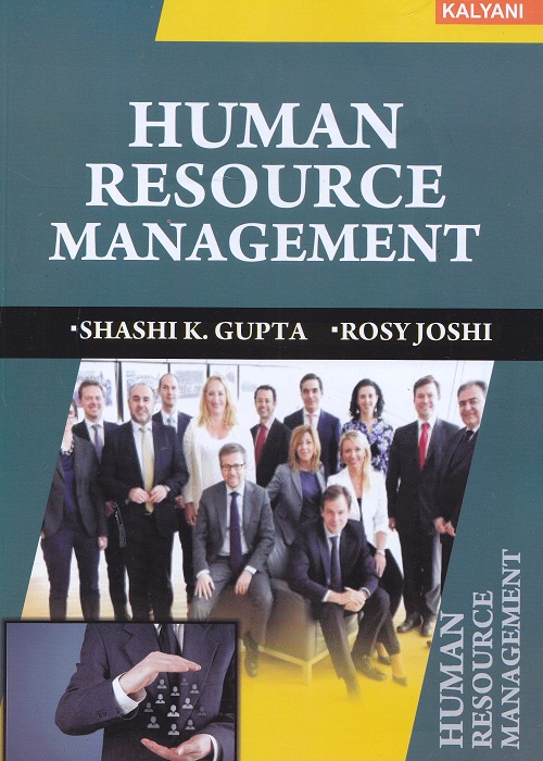 Human Resource Management for Semester-II B.Com (P.U.) by Shashi K. Gupta and Rosy Joshi  (Kalyani Publishers) Edition 2017