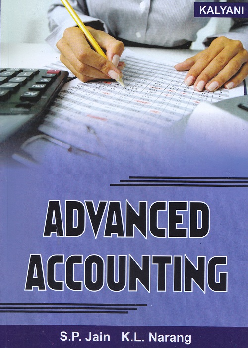 Advanced Accounting for Semester-IV B.Com (P.U.) by S.P. Jain and K.L. Narang  (Kalyani Publishers) Edition 2017
