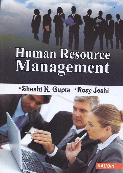 Human Resource Management for Semester-IV, BBA (P.U.) by Shashi K. Gupta and Rosy Joshi (Kalyani Publishers) Edition 2017