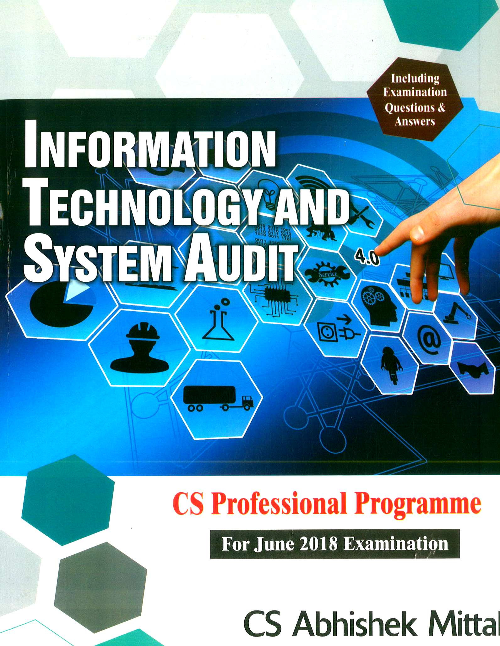 Sangeet kedia CS Professional Programme Information Technology And Systems Audit By Abhishek Mittal Applicable for June 2018 Exam