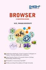 High Scorer's Browser (A Question Bank) for B.Sc. Semester-IV (Mohindra Publishing House) Edition 2019 Punjab University for 2019 exam