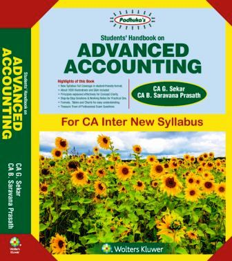 Students' Handbook on Advanced Accounting By Ca B Saravana Prasath Ca G Sekar New Syllabus Applicable for May 2018 Exam