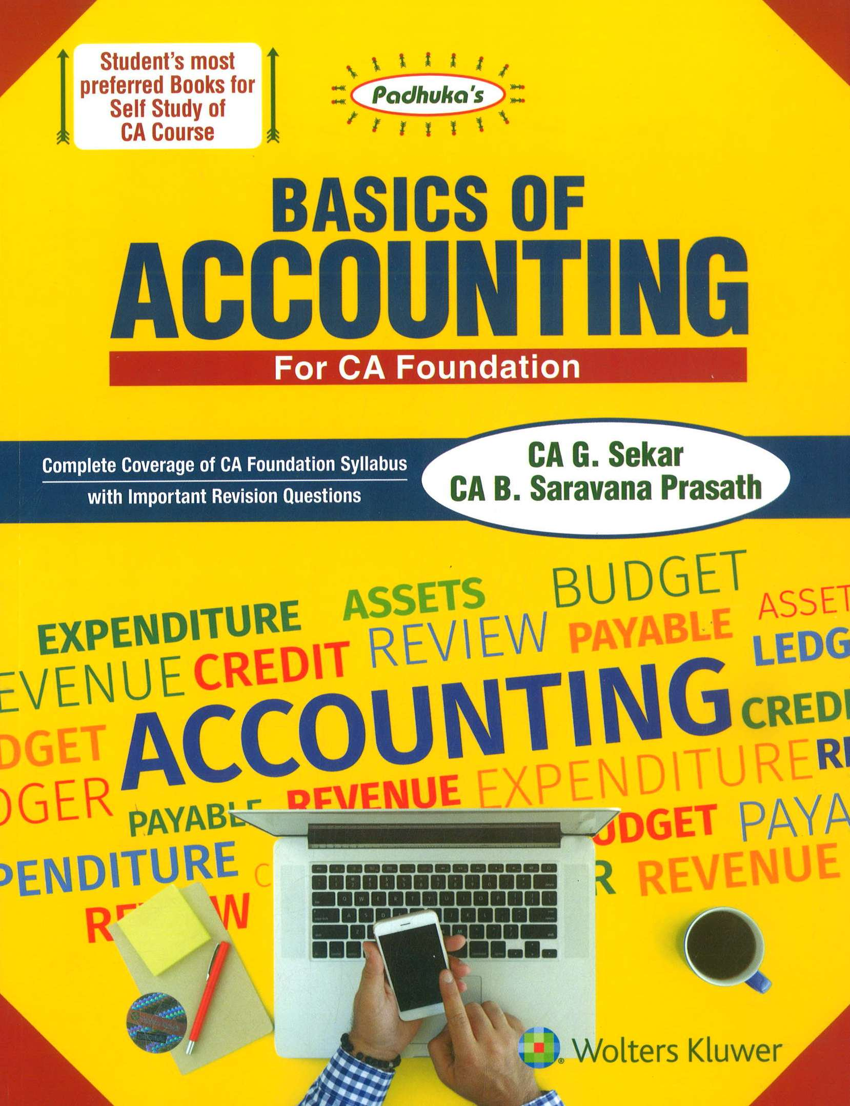 CCH Padhuka Basics of Accounting for CA Foundation By CA G. Sekar B. Saravana Prasath Applicable for June 2018 Exam