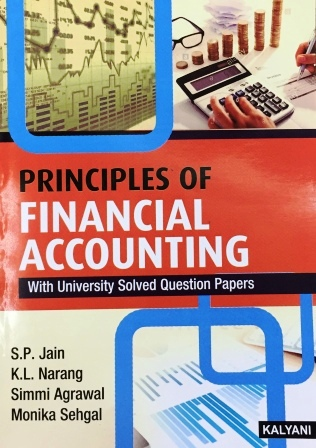 Kalyani Publisher's Principal of Financial Accounting for B.Com-I sem Punjab University for Dec 2018 Exam