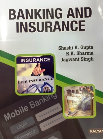 Kalyani Publisher's Banking and Insurance for B.Com-III Sem Punjab University 2018 edition For Dec 2018 Exam