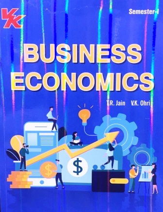 V K Publisher Business Economics for B.Com-I Sem Punjab University 2018 edition (V K publishing) For Dec 2018 Exam
