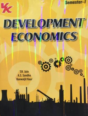 V K Publisher Development Economics for B.A-V Sem Punjab University 2018 edition (V K publishing) For Dec 2018 Exam