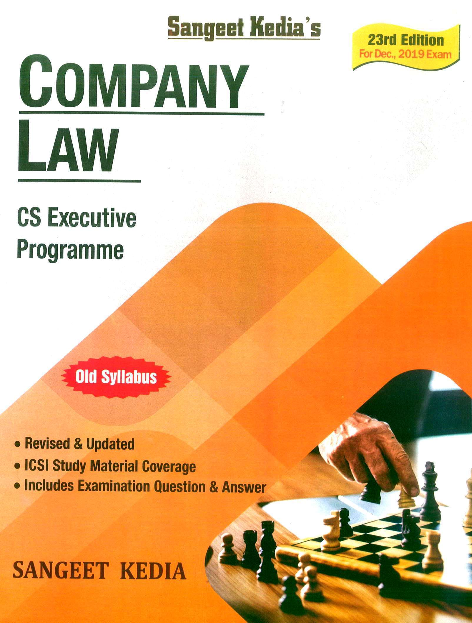 Pooja Law House For CS Executive Programme Company Law by Sangeet Kedia (New Syllabus) Applicable For Dec 2019 Exam (Pooja Law House Publishing) Edition 2019