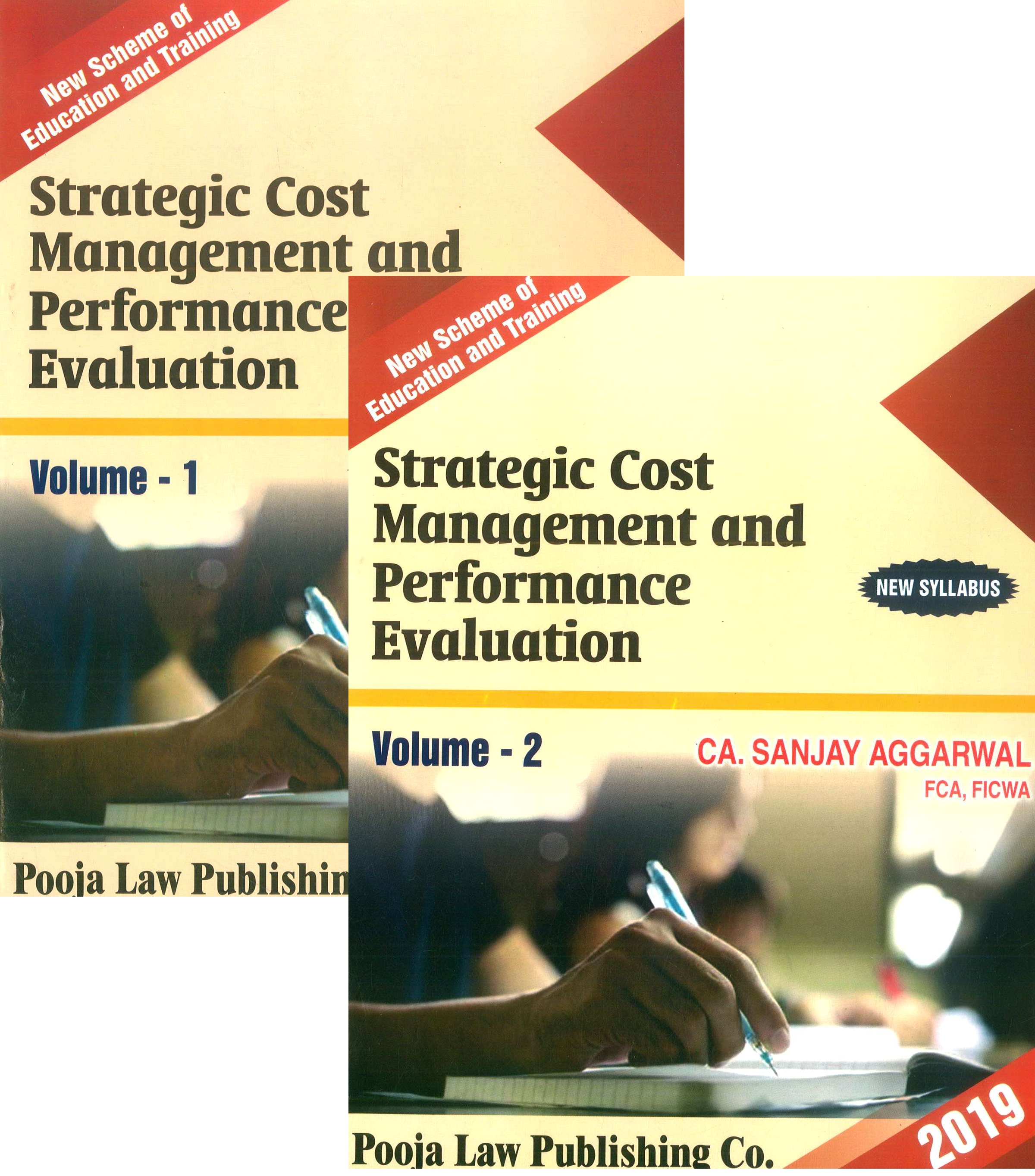 Pooja Law House CA Final Strategic Cost Management and Performance Evaluation for New Syllabus By CA Sanjay Aggarwal Applicable for May 2019 Exam
