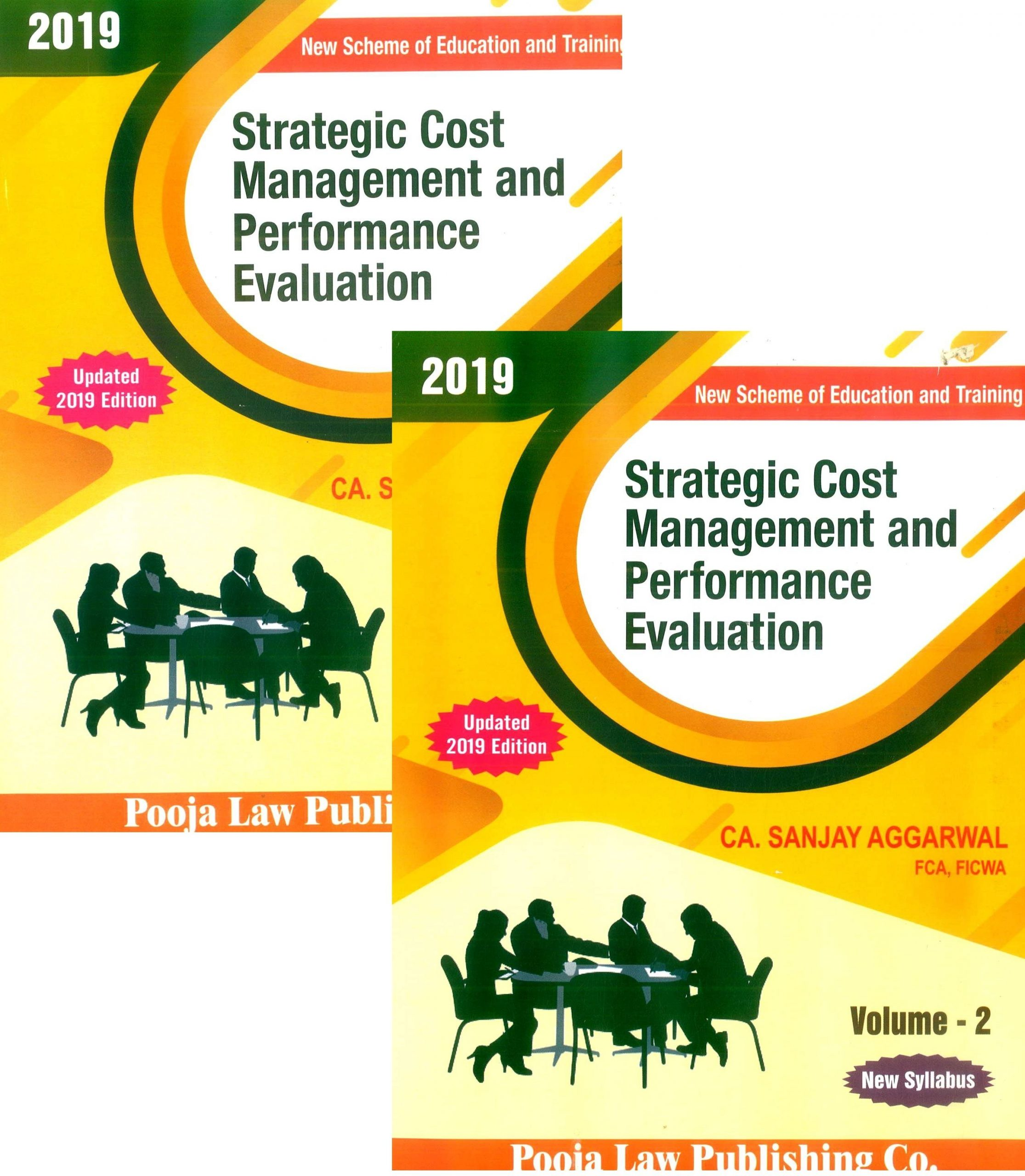 Pooja Law House CA Final Strategic Cost Management and Performance Evaluation for New Syllabus By CA Sanjay Aggarwal Applicable for May June 2020 Exam