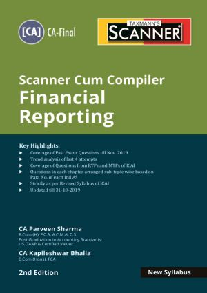 Taxmann Scanner Cum Compiler Financial Reporting – New SyllabusMay 2020