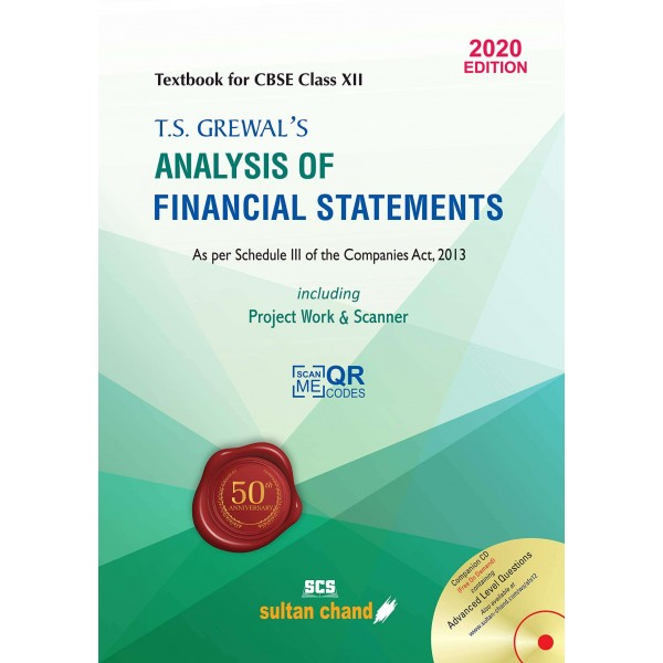Analysis of Financial Statements, Class XII, T.S. Grewal's (Sultan Chand & Sons (P) Ltd.)