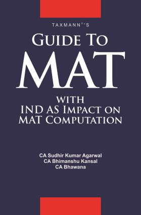 Guide To MAT with IND AS Impact on MAT Computation