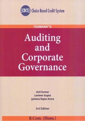 Auditing and Corporate Governance – B.com (Hons.)