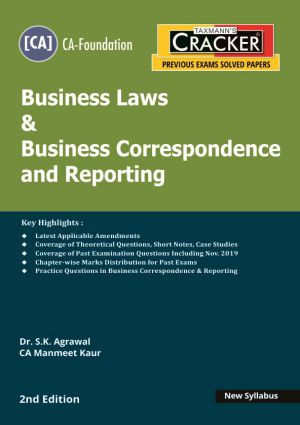 Taxmann Cracker CA foundation Business Laws & Business correspondence and Reporting