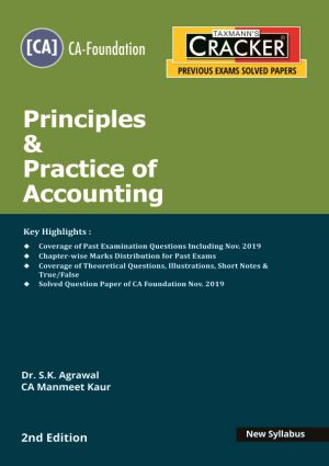 Taxmann Cracker CA foundation Principles & Practice of Accounting