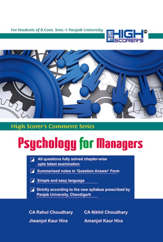 High Scorer's Psychology for Managers for B