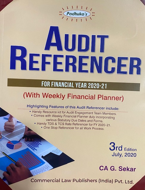 Padukas Audit referencer by CA G Sekar edition 3 july 2020