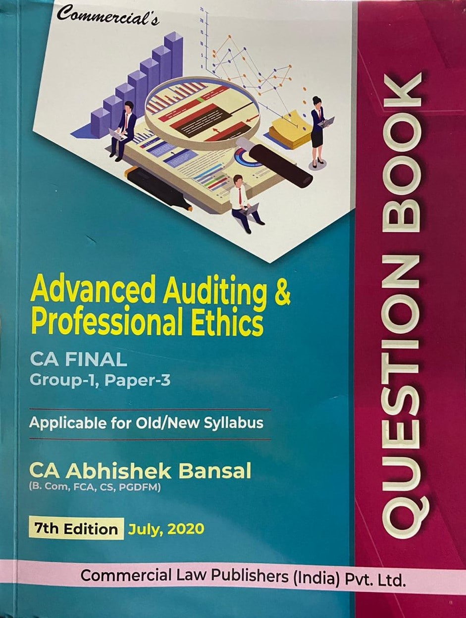 Commercial Question bank Advanced auditing and professional ethics CA Final By Abhishek Bansal Applicable for Nov 2020 Exam