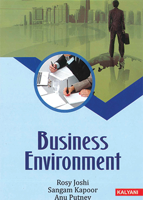 Business Environment for BBA Sem. 5 (P.U.) by Rosy Joshi, Sangam Kapoor & Anu Putney Edition 2020