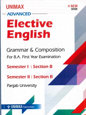 Elective English for B.A. Part 1 (P.U.) Sem