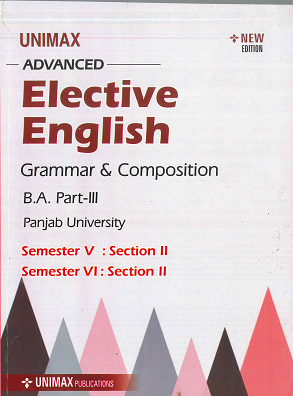 Elective English for B.A. Part 3 (P.U.) Sem. 5 & 6 Section 2, Edition 2020