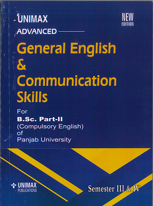 General English & Communication Skills for B.Sc. Part 2 (Compulsory Eng) of (P.U) Sem. 3 & 4 by Prabhleen Toor,Edition 2020