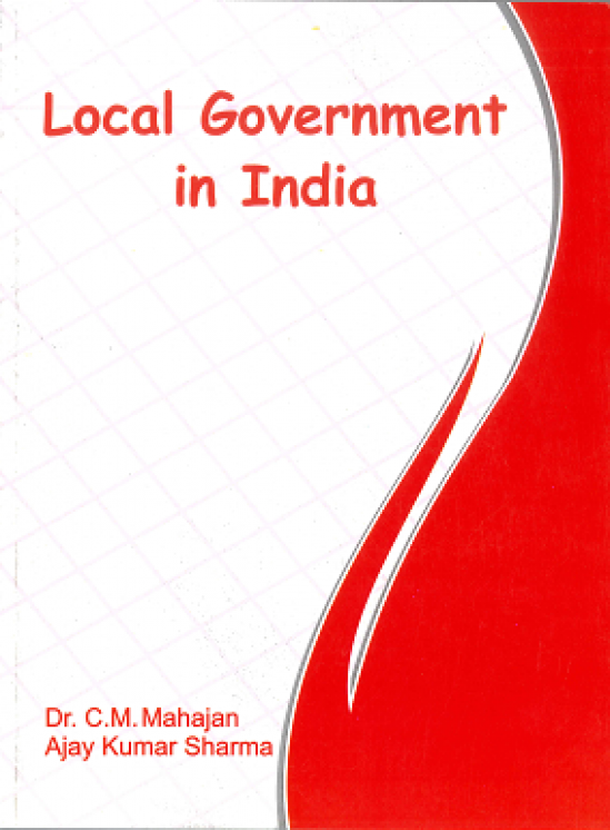 Local Government in India By Dr. C.M
