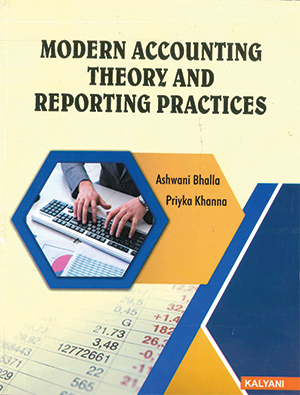 Modern Accounting Theory & Reporting Practices By Dr. Ashwani bhalla & Dr. Priyka Khanna Edition 2020