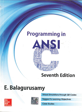 Programming in Ansi 7th Edition by E. Balagurusamy