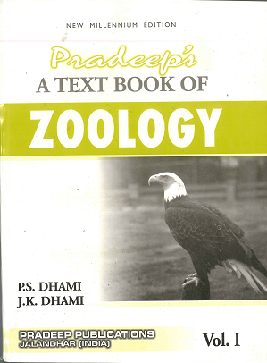 Pradeep Zoology Volume 1 and vol 2 set of 2 books, Sem. 5 & 6 (P.U.) by P.S. Dhami & J.K. Dhami Edition 2020