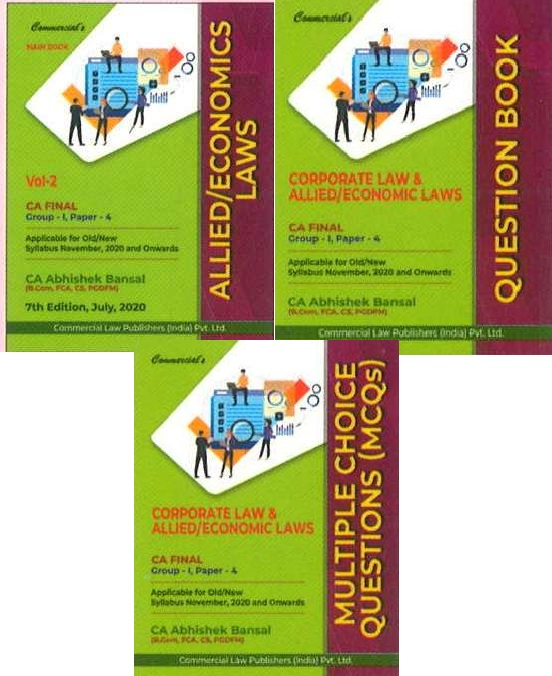 Commercial MCQs CA Final Corporate Economic & Allied Laws By Abhishek Bansal Applicable for Nov 2020 Exam