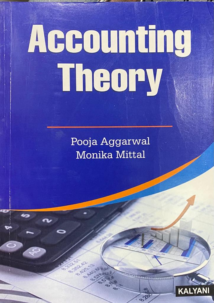 Accounting theory for B.Com. 3rd Sem. (P.U.) by pooja aggarwal and monika mittal Edition 2020