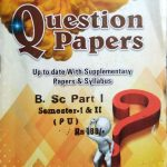 Bindra Question Papers For B.Sc. Part 1, Sem. 1 & 2 (P.U.) by Bindra Publisher, Edition 2020