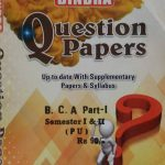 Bindra Up to date with Supplementary Papers & Syllabus For B.C.A Part 1 Sem. 1 & 2 (P.U.) by Bindra Publisher, Edition 2020