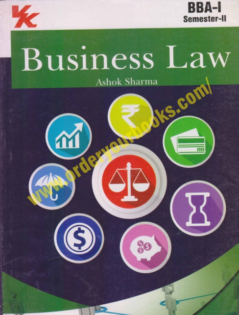 Business Law For BBA Sem. 2 by Ashok Sharma Edition 2021 for Panjab University