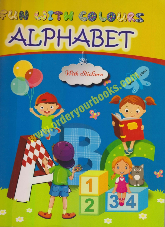 Fun with Colours Alphabet with Stickers