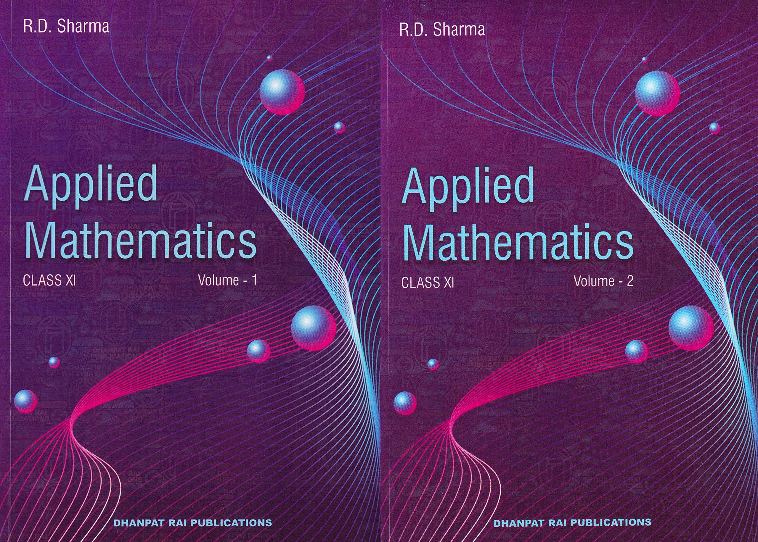 Applied Mathematics for Class 11 (Set of 2 Volume) Examination 2020-21 Paperback – 1 January 2021