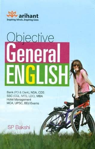 Objective General English (S P Bakshi) Book by Arihant Publication 2021 by Arihant Experts and Fastbook Library