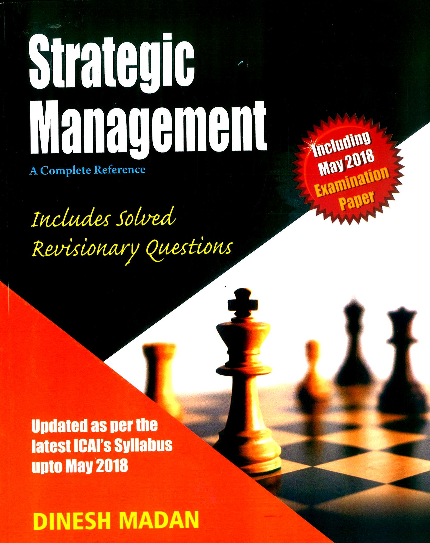Pooja Law House A Complete Reference Strategic Management For CA IPCC By Dinesh Madan for Nov 2018 (Pooja Law House Publishing) Edition June 2018