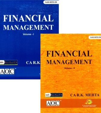 Financial Management for CA IPCC by RK Mehta
