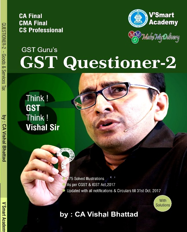 VSmart CA Final IDT Questioner Book (Set of 4 Questioner Books) Old and New Syllabus By Vishal Bhattad Applicable for May June 2020 Exam